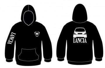Sweatshirt com capuz para Lancia Y