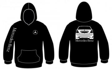 Sweatshirt com capuz para Mercedes C W202