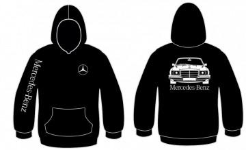 Sweatshirt com capuz para Mercedes W116 W123
