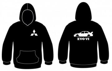 Sweatshirt com capuz para Mitsubishi EVO VI
