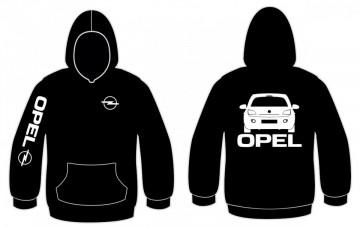 Sweatshirt com capuz para Opel Adam
