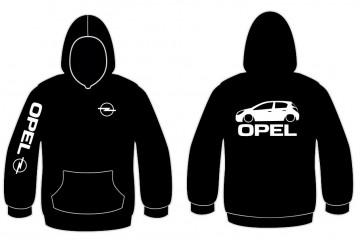 Sweatshirt com capuz para Opel Corsa D - 5 Portas