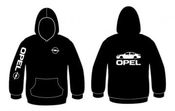 Sweatshirt com capuz para Opel Insignia
