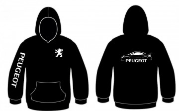 Sweatshirt com capuz para Peugeot 307