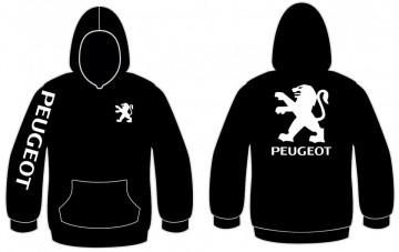 Sweatshirt com capuz para Peugeot