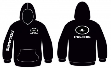 Sweatshirt com capuz para Polaris
