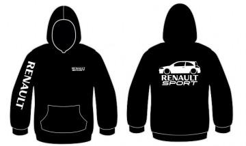 Sweatshirt com capuz para Renault Megane 2