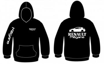 Sweatshirt com capuz para Renault Megane III