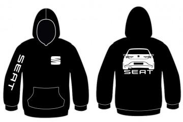 Sweatshirt com capuz para Seat Leon 5F