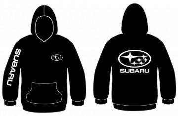 Sweatshirt com capuz para Subaru