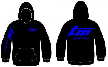 Sweatshirt com capuz para TM racing