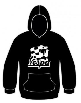 Sweatshirt com capuz para Vespa