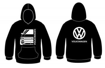 Sweatshirt com capuz para Volkswagen Golf II