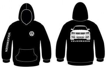 Sweatshirt com capuz para Volkswagen Passat 3BG
