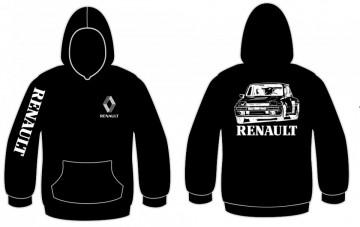 Sweatshirt com capuz Renault 5 turbo