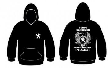 Sweatshirt com capuz Todos Nascemos (Peugeot)