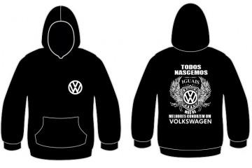 Sweatshirt com capuz Todos Nascemos (Volkswagen)