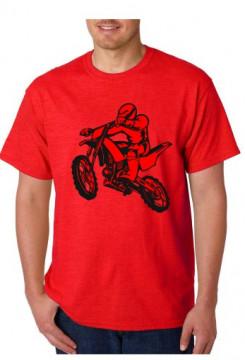 T-shirt  - Motocross Manic