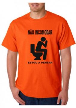 T-shirt  - Não Incomodar Estou A Pensar
