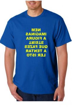 T-shirt  - Nem Imaginas A Figura Triste Que Fazes a Tentar Ler Isto