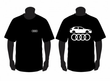 T-shirt  para Audi A3 8P Lateral