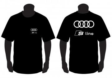 T-shirt para Audi S Line