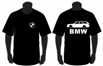 T-shirt para BMW E34 Touring