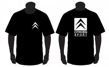 T-shirt  para Citroen Sport