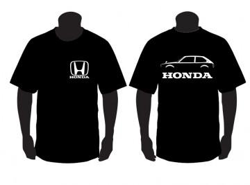 T-shirt para Honda Civic segunda geração