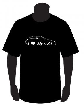 T-shirt para I Love My CRX