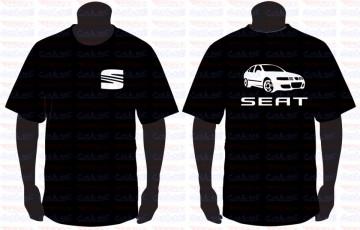 T-shirt  para Seat Leon