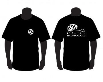 T-shirt para Volkswagen Sirocco