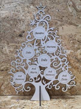 Árvore de Natal em MDF
