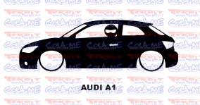 Autocolante - Audi A1 Com Stig