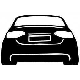 Autocolante - Audi A4