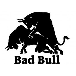 Autocolante - Bad Bull
