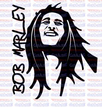 Autocolante - Bob Marley