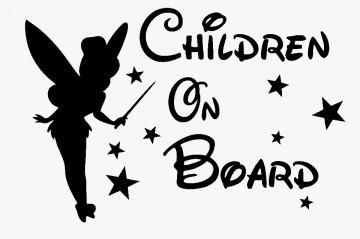 Autocolante - Children on board