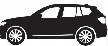 Autocolante com BMW X5