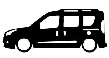 Autocolante com Fiat Doblo