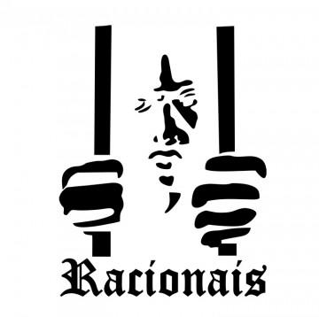 Autocolante com Racionais