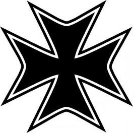 Autocolante - Cruz de Malta