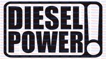 Autocolante - Diesel Power