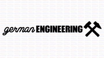 Autocolante - German Engineering