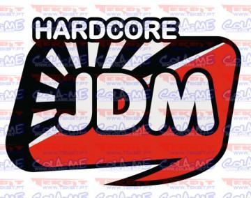 Autocolante Impresso - Hardcore JDM
