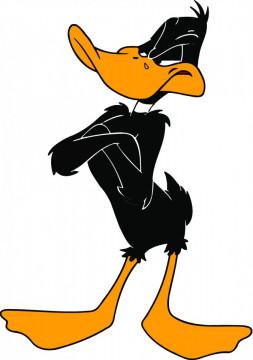 Autocolante Impresso - Pato Daffy 02