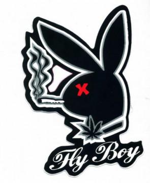 Autocolante Impresso - Playboy 2