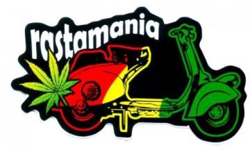Autocolante Impresso - Rastamania