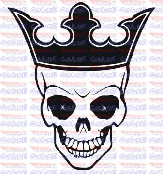 Autocolante - King Skull