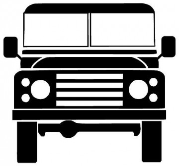 Autocolante - Land Rover